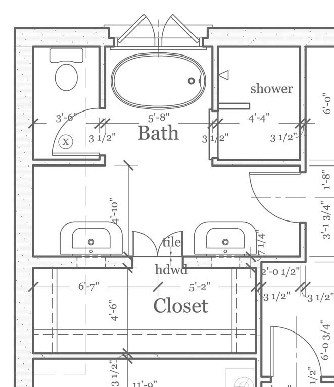 Small Bathroom Design with Washer and Dryer