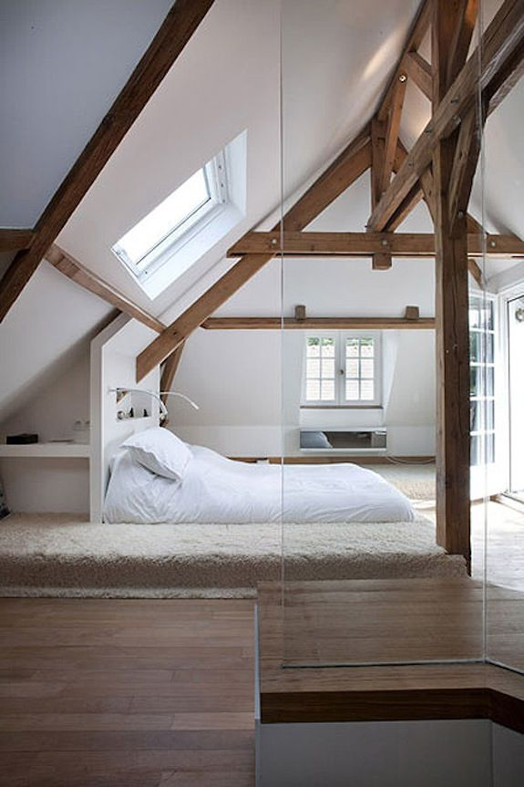 Awesome Small Attic Master Bedroom Images