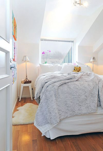 Beautiful Small Attic Bedrooms Ideas Pictures