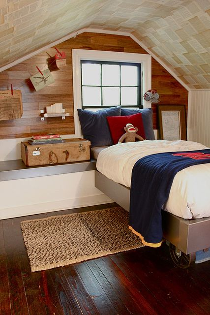 Interior Design For Small Attic Bedroom Pictures