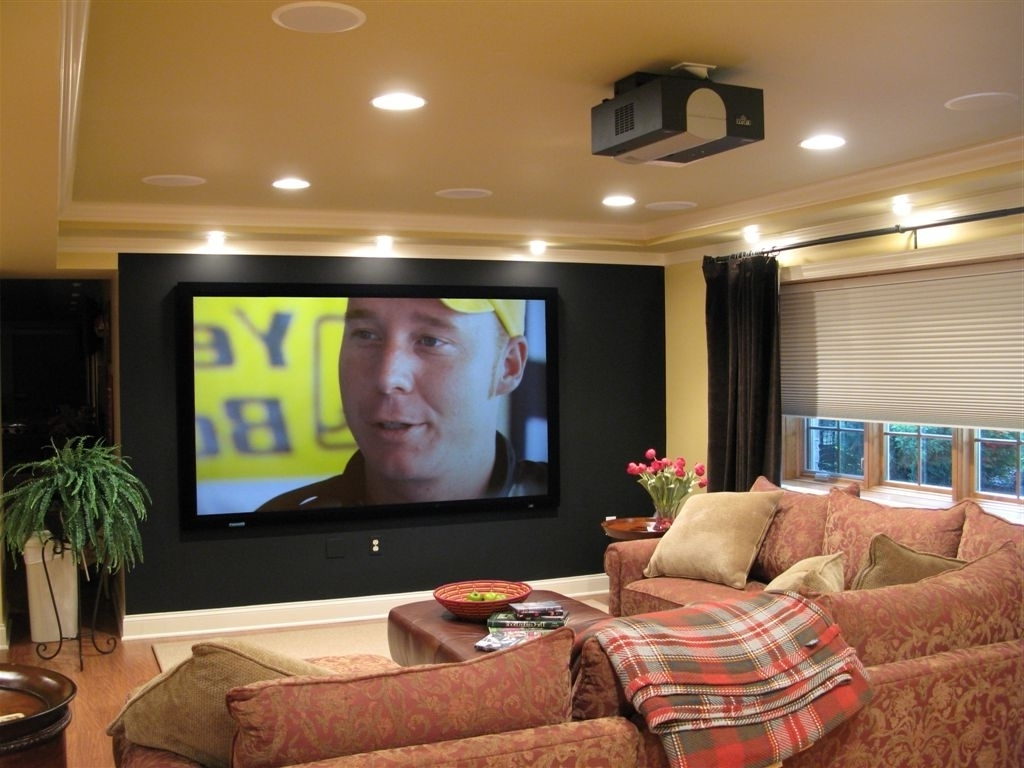 Astonishing Small Media Room Ideas With Couches Dining Room