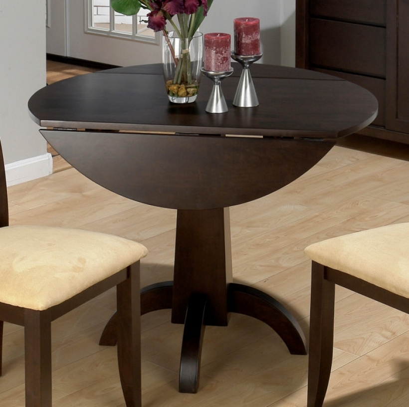 Drop Leaf Kitchen Tables For Small Spaces Black Color 339