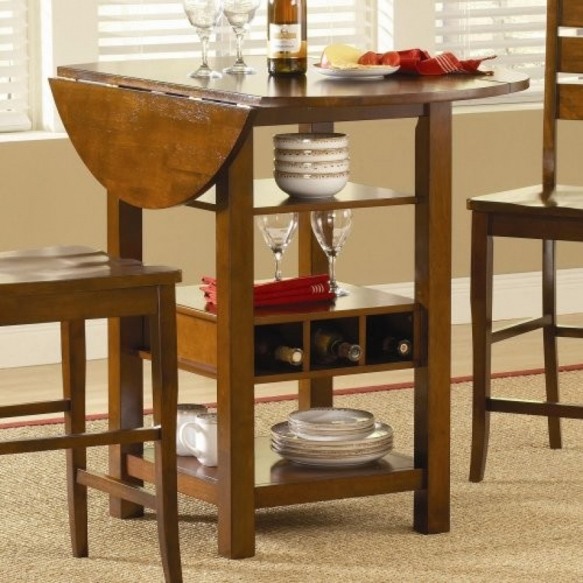 Drop Leaf Kitchen Tables For Small Spaces Multifunctional Design 062