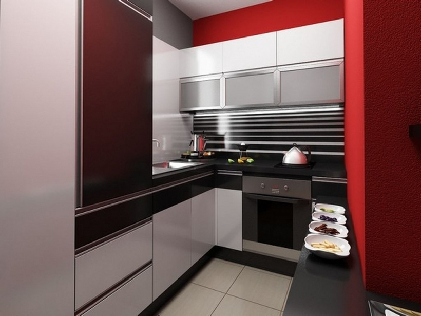 Interior Design In Small Kitchen Apartment Studio