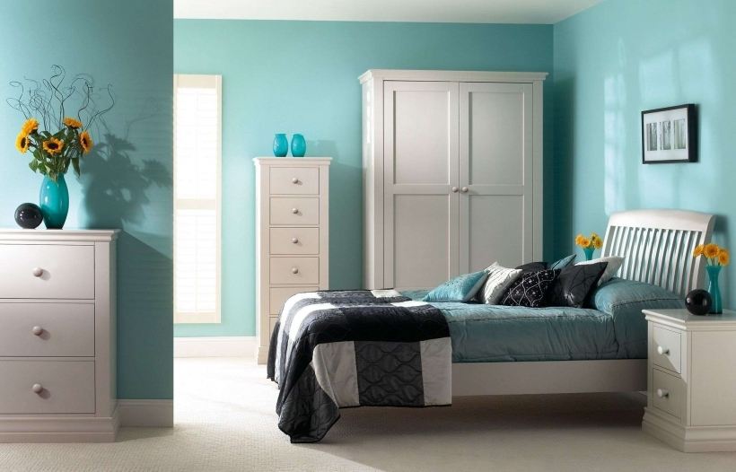 Small Bedroom Paint Colors Turquoise Bedroom Paint Color Ideas