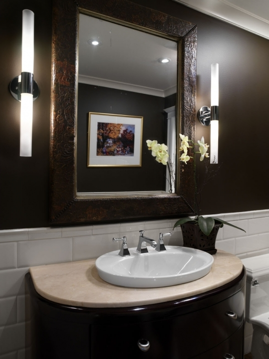 Small Powder Room Decorating Ideas Inspiring Design In A Simple Decoration 716