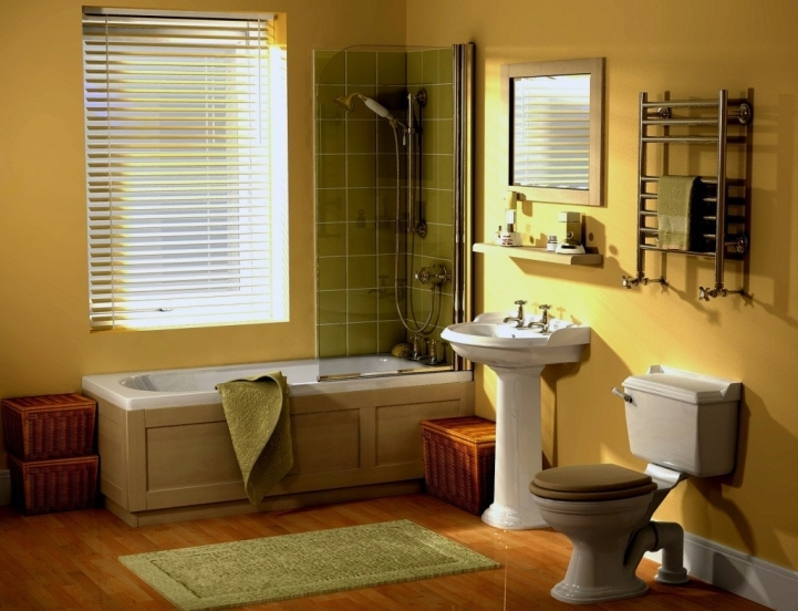 Small Bathroom Paint Colors With Marvelous Yellow Bathroom Wall Color Ideas Simple Design 3586
