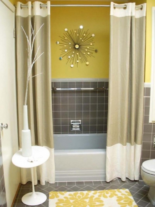 Small Bathroom Paint Colors With Marvelous Yellow Wall Painting Ideas 8142