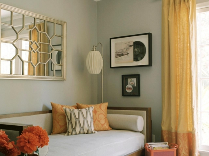 Small Guest Room Decorating Ideas With Marvelous Erinn Valencich Guest Bedroom 4622