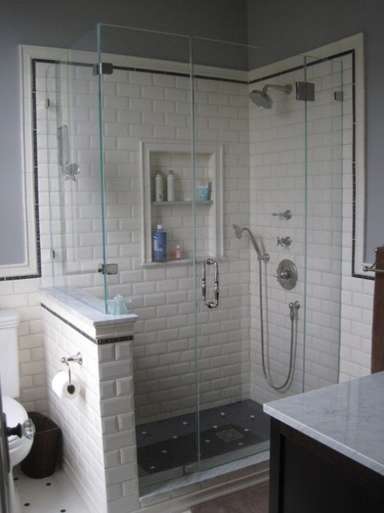 Subway Tile for Small Bathroom Remodeling Ideas
