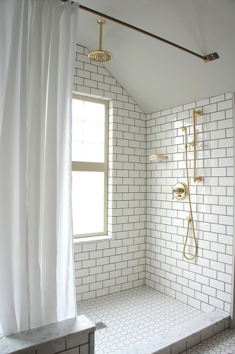 Subway Tile For Small Bathroom Remodeling Ideas Simple Decor 9340