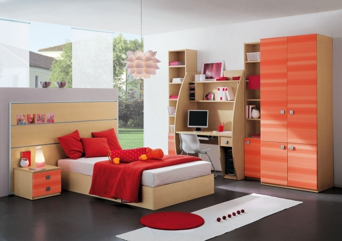 Cupboard Designs For Small Rooms With Brilliant White Solid Wood Cupboard For Kids Bedroom 2627