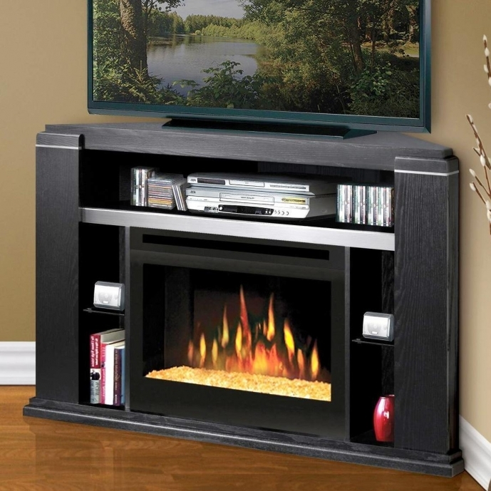 Small Corner Electric Fireplace Tv Stand Best Design Ideas 31