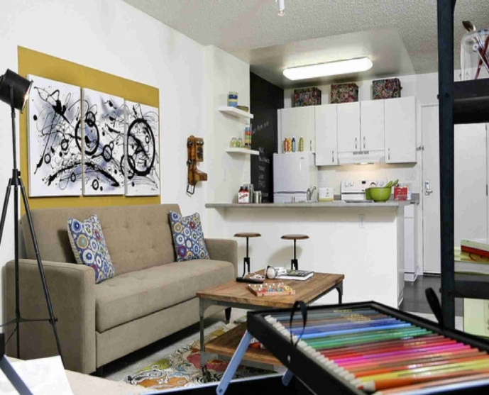 Decorating Ideas For Small Family Rooms Contemporary Design Layout Very Small Interior Design 30