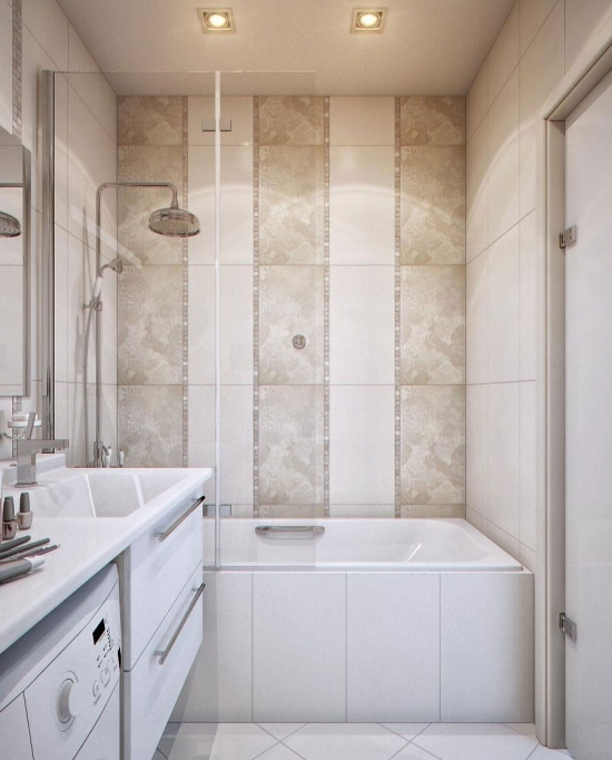 Small Bathroom with Shower and Tub Ideas