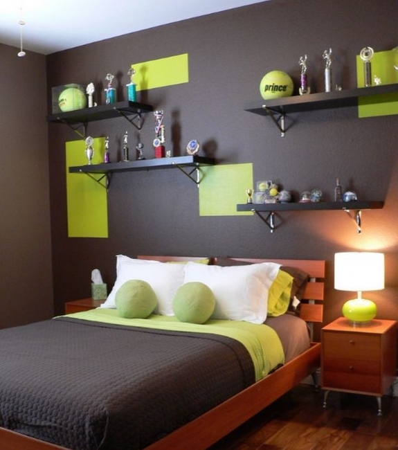 best colors for small bedrooms interior design with dark gray Pic 62